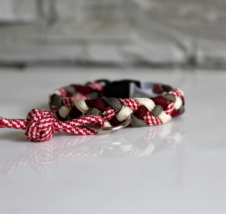 Collier paracord Chat
