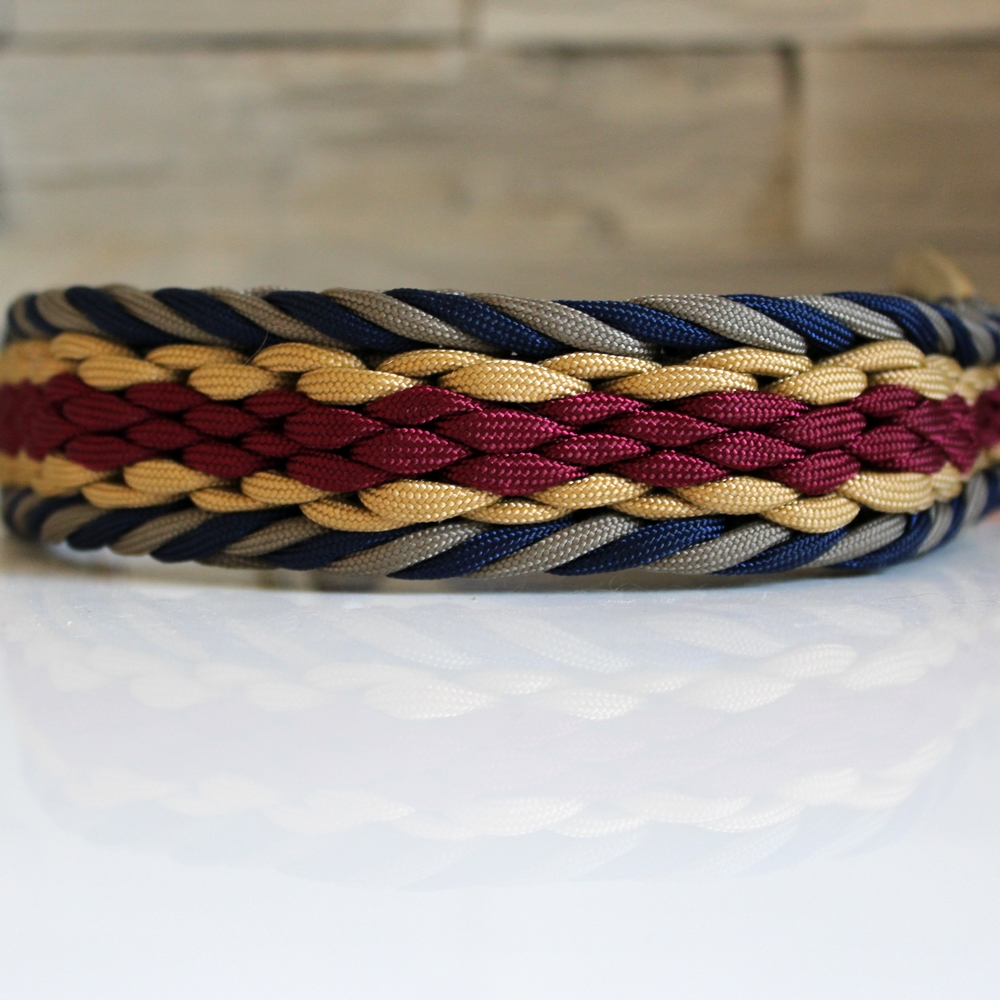 collier paracord chien hanna