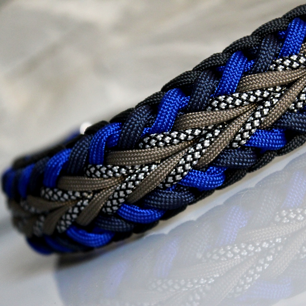 collier chien paracord laika