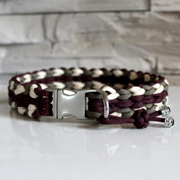 Collier paracord chien Neïa