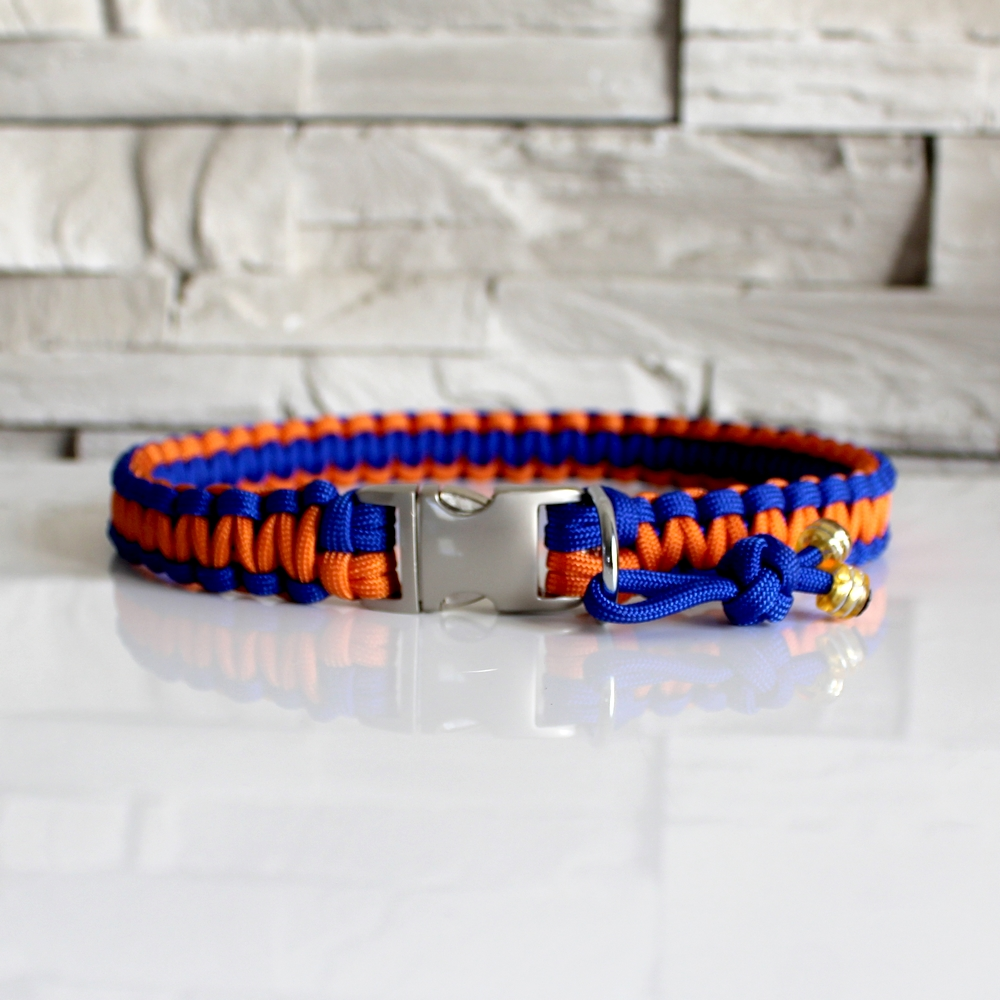 collier chien paracord louna