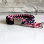 Collier paracord chien Nora