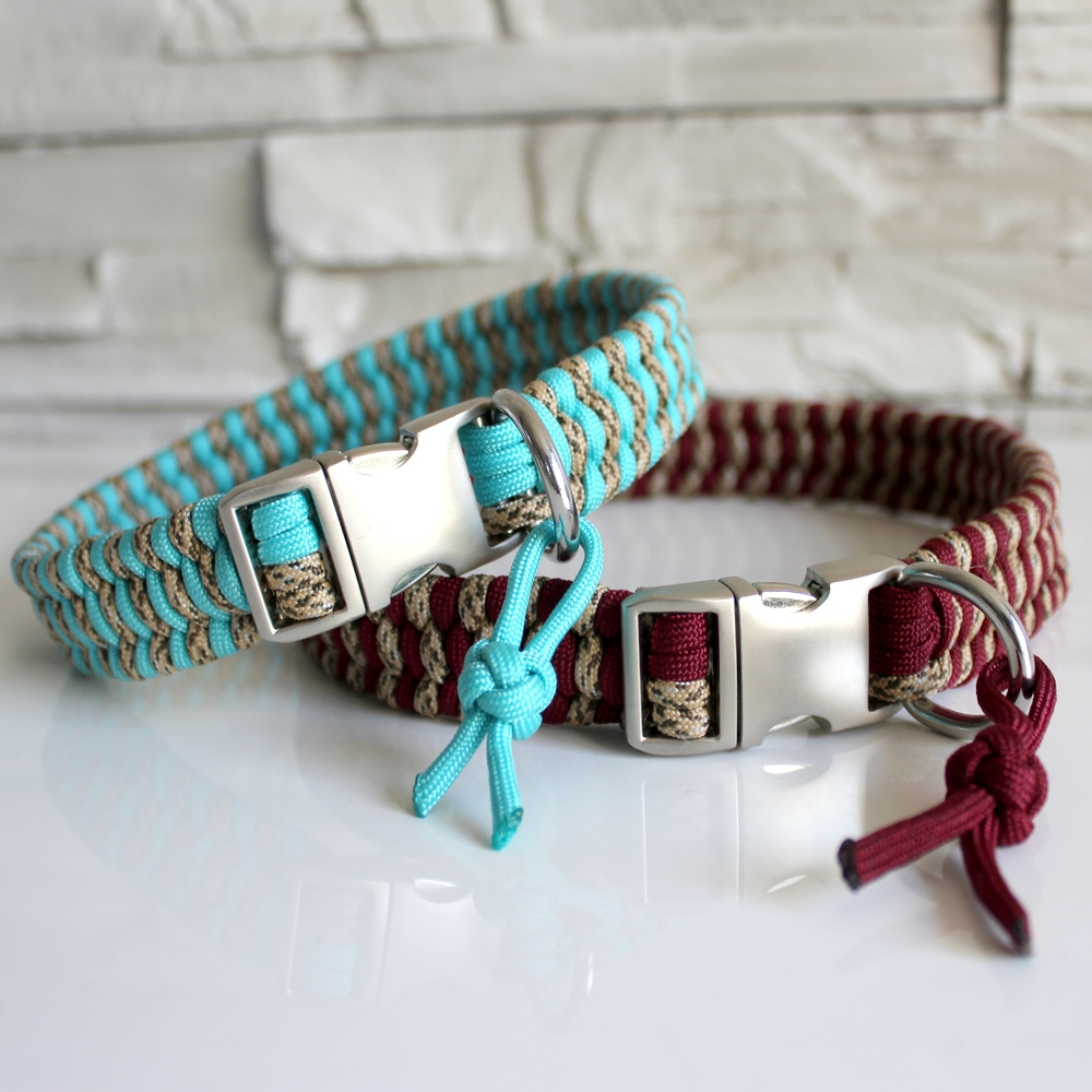 Collier paracord chien Kiara