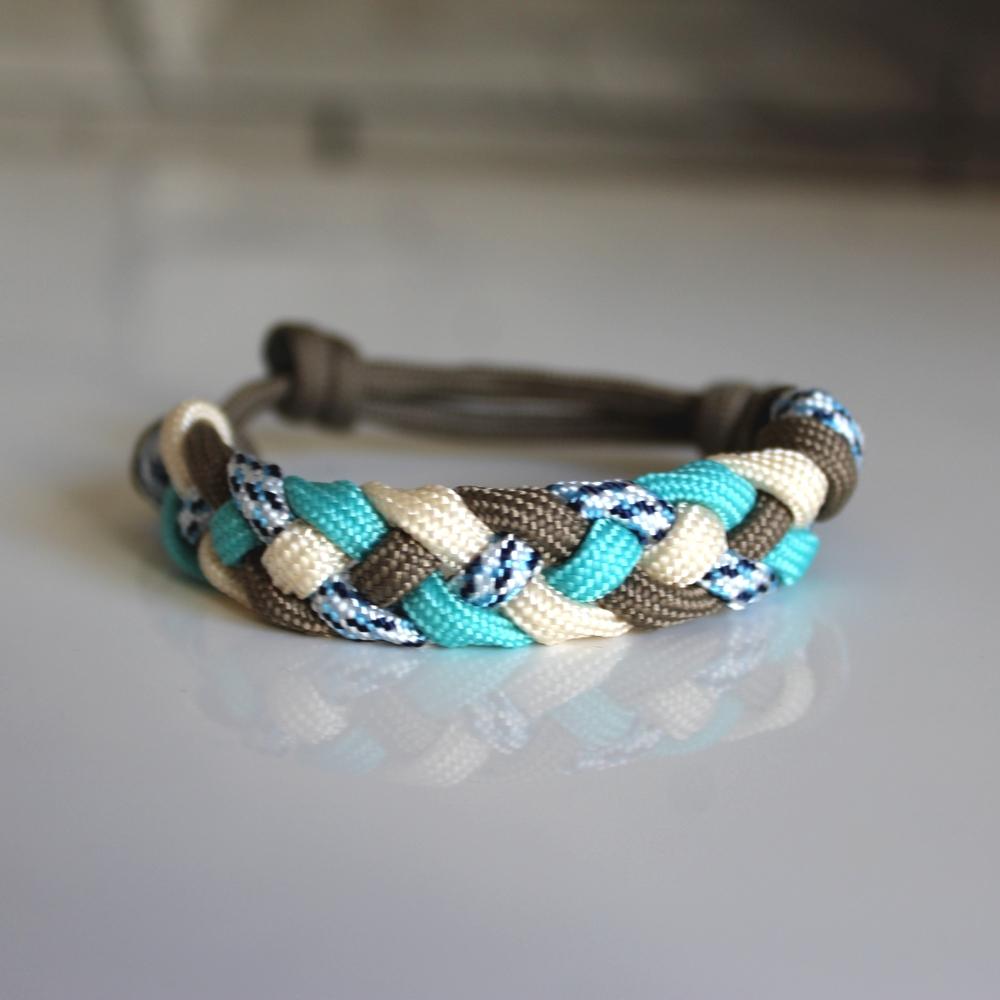 bracelet femme paracorde